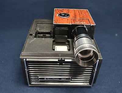 Bell & Howell Cube Slide Projector Model 991 - Excellent Working Condition