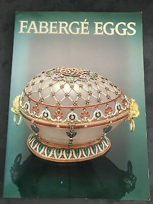 Faberge Eggs Book Imperial Russian Fantasies Christopher Forbes 1990 OVERSIZED