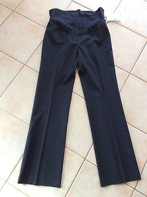 Superior Fit Work Career Black Maternity Pants Size 6 NWT