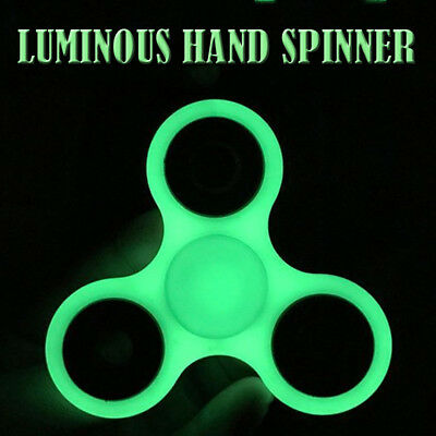 Luminous Hand Spinner Fidget Ball Desk Toys Glow in Dark Finger Toy Kids Adult