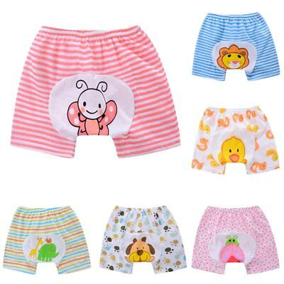 Cute Infant Toddler Baby Diaper Cover Toilet Training Pants Nappy Shorts Pants