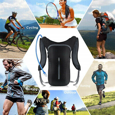KUYOU Hydration Pack Ultra Water Backpack Includes BPA Bladder Hiking Cycling US