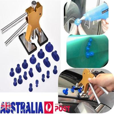 AU Car Body Hail Glue Puller Tabs Lifter Paintless Removal Dent Repair Tool Kit