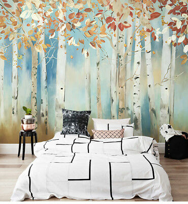 E140 Customized Wall Painting Murals Non-woven Fabrics Decoration Wallpaper M