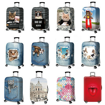 Elastic Thick Luggage Cover for Trunk Case 18''-32'' Suitcase Protective Cover