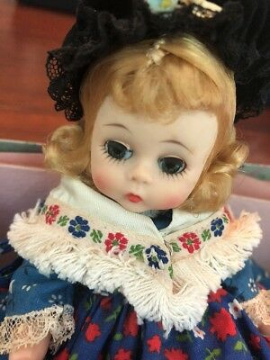 German Girl  #763 Madame Alexander Bent Knee Germany