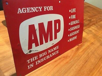 Old AMP Insurance Sign