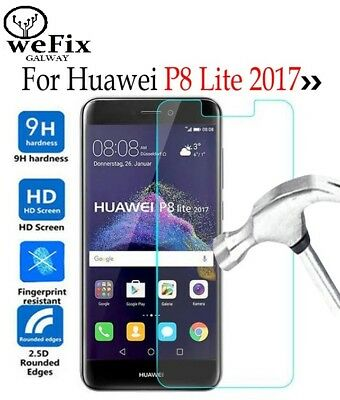 Huawei P8 Lite 2017 Premium Tempered Glass Screen Protector 9H 0.33mm 2.5D