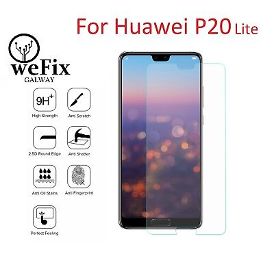 For Huawei P20 Lite Premium Tempered Glass Screen Protector 9H 0.33mm 2.5D