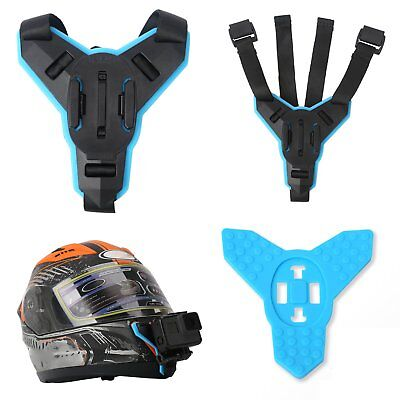 Casco Supporto Bicicletta Moto Helmet Chin Per Gopro Hero 6 5 4 3 Action Camera