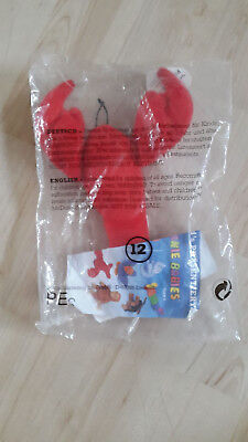ty Teenie Beanie Babies Mc Donalds 1998 - OVP - Pinchers the Lobster Hummer
