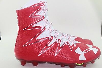 ac4c953add044 Under Armour Highlight Mc Football Cleats Men 12.0 New Red White Comfortable