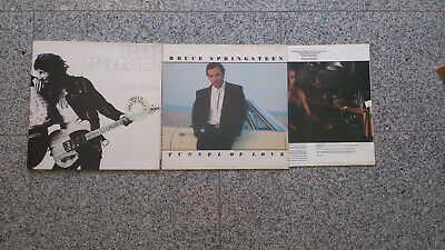 Bruce Springsteen 2 LP´s  Born to Run incl. Poster & Tunnel of Love
