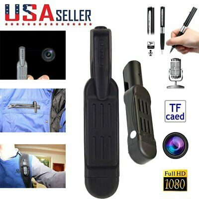 HD Pocket Pen Camera Hidden Spy Wireless Mini Portable Body Video Recorder DVR