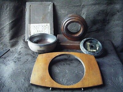 CLOCK PARTS  spares  clock cases HAC Door