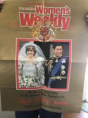 Official Poster - Women's weekly royal wedding