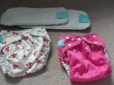 Charlie Banana Nappies Large L Inserts X2