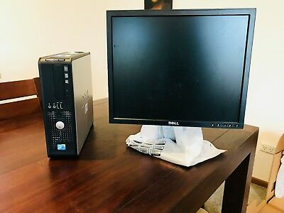 Dell OptiPlex 780 (160 GB, Intel Core 2 Duo, 2.93 GHz, 4 GB) PC + 17'' Monitor