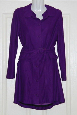 Vintage Womens size 6 purple 2 piece skirt suit made by Miss Petite - circa 1960