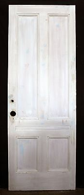 "2 avail 32""x89"" Antique Victorian Interior Solid Wood Wooden Pocket Sliding Door"