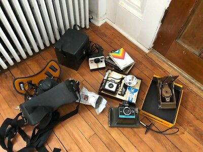Vintage Lot of  Camera's - Untested – Used