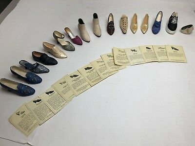 Just The Right Shoe - 15 Shoes With Cards Collectible Shoes - LOT