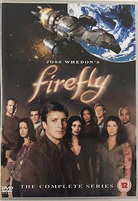 Firefly - The Complete Series (DVD, 4-Disc Box Set) Joss Whedon