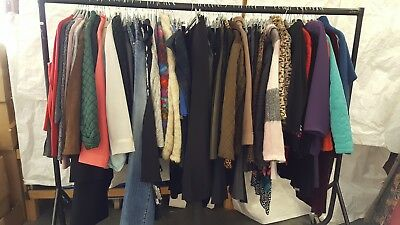 Clearance! Job Lot Of Ladies Clothes; Approx 70 Pieces (2)