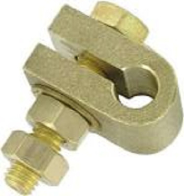3/8 Brass Earth Rod Clamp