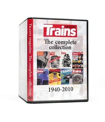 TRAINS MAGAZINE! The Complete Collection! Stupenda Rivista americana ferroviaria