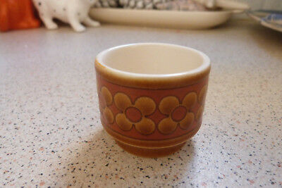 "Hornsea ""Saffron"" Pottery Egg Cup - VGC Made in England"
