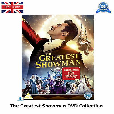 The Greatest Showman - 2017 Michael Gracey, Rebecca Ferguson New and Sealed DVD