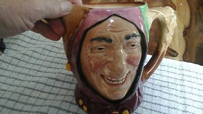 royal doulton character jug large 6in touch stone rare old mark no damage see lm