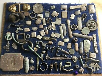 Big Lot Of Mostly Dug Up Artefacts