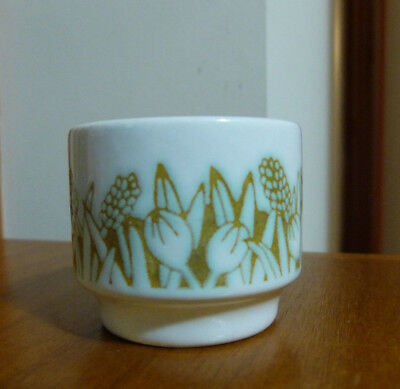 "Hornsea ""FLEUR"" Pottery Egg Cup - VGC Made in England"