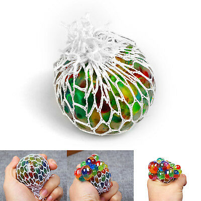 Squishy Mesh Grape Ball Anti Stress Reliever Squeeze ADHD Pressure Toys Gift 5x