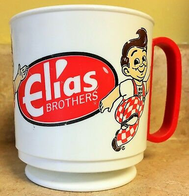 Vintage Elias Brothers Big Boy Coffee Cup Mug Restaurant Retail memorabilia