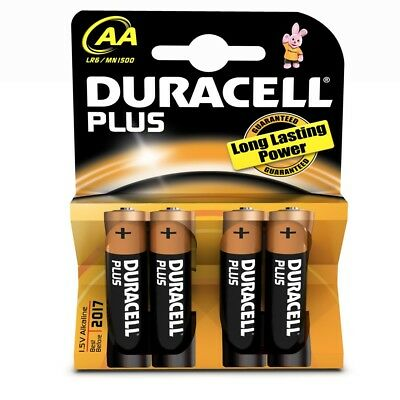 Duracell Plus Power AAA Batteries LR03/MN2400 1.5v Alkaline 4 Pack