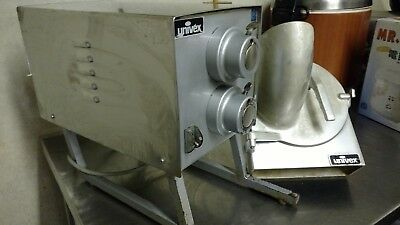UNIVEX PB11 1 HP Meat Grinder Motor and Meat Tray Attachments!