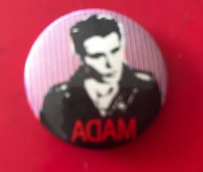 Adam (and the Ants) Small Badge