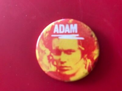 'Adam' (and the Ants) Small Badge