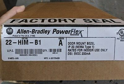 22-Him-B1 Remote Mount Bezel Kit, Allen Bradley
