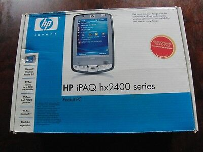 HP iPAQ hx2400 PDA Boxed Excellent Condition Pocket PC