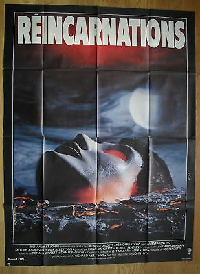 "DEAD & BURIED Sci-fi Horror Farentino original french movie poster 63""x47"" '81"