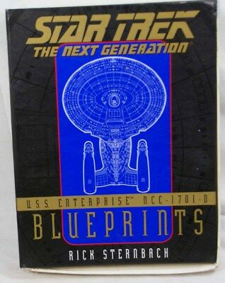 Star Trek/Next Generation - USS ENTERPRISE NCC-1701-D - Blueprints - Sternbach
