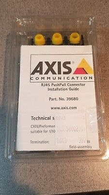 Brand New Axis RJ45 Push/Pull POE Security Camera connector Part No: 39680
