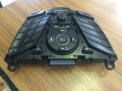 2012-2014 Ford Focus Center Dash Radio Control Face Plate Oem See Photos 1 -2