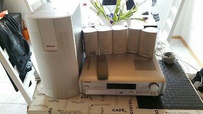 Panasonic SA-HT80 5-DVD Changer Home Theatre Sound System 5.1 channel + remote