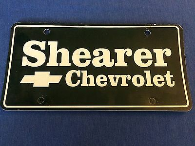 Vermont Dealership License Plate Glen S Auto St