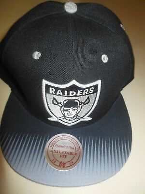 LOS ANGELES RAIDERS Mitchell And Ness Fitted Hat sz 8 Rare new era ... 5b2b1bf49